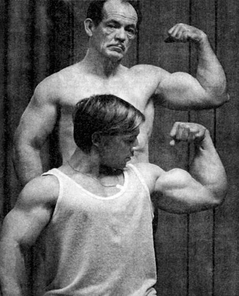Arthur Jones & Casey Viator
