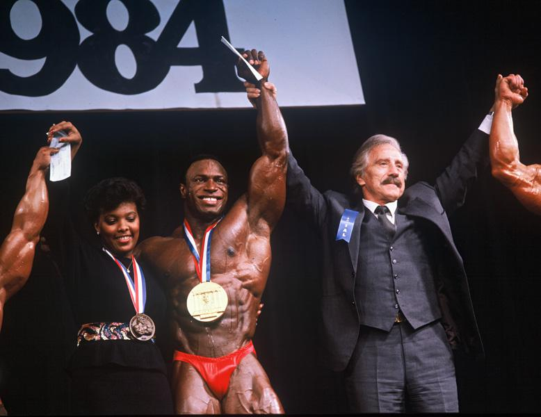 Lee Haney Mr. Olympia 1984
