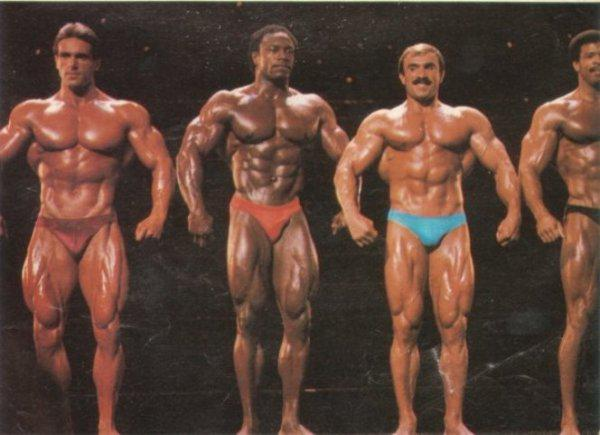 Lee Haney with John Terilli