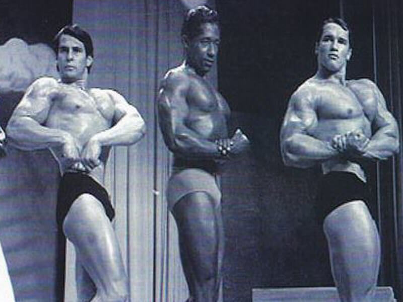 Old School Labs - Mario with Arnold Schwarzenegger