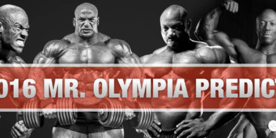 2016 Mr. Olympia Predictions