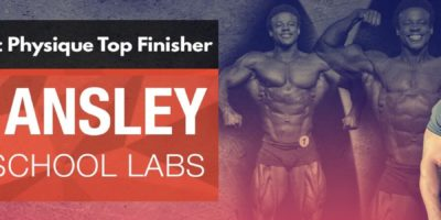 Mr. Olympia Classic Physique Top Finisher Breon Ansley Joins Old School Labs™ as Brand Ambassador