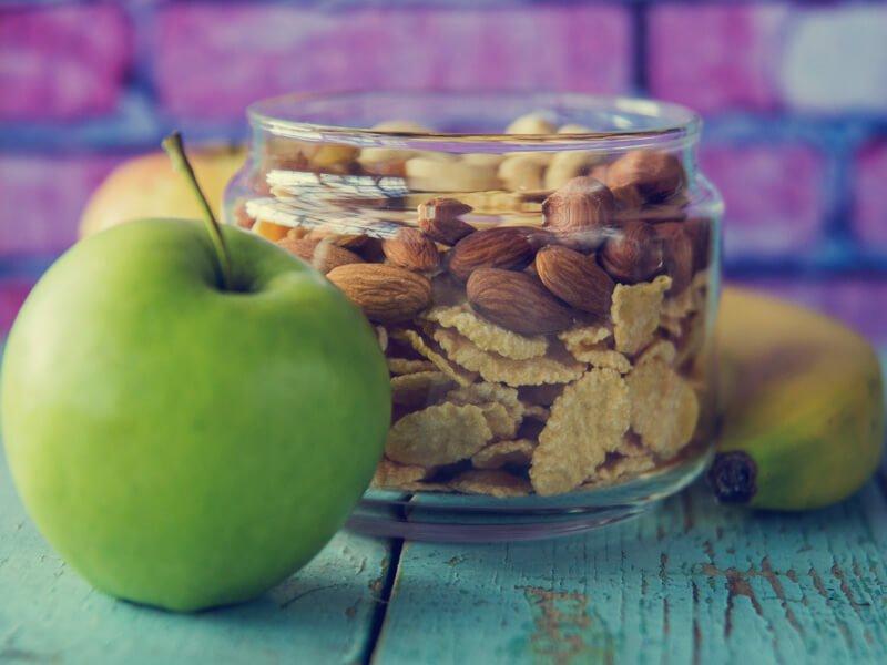 Keep healthy finger snacks handy