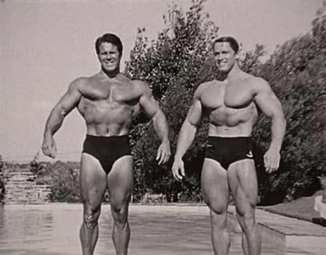 Reg Park with Arnold
