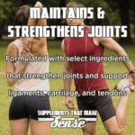Maintains and Strengthens Joints