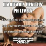 Maintains Healthy pH Levels