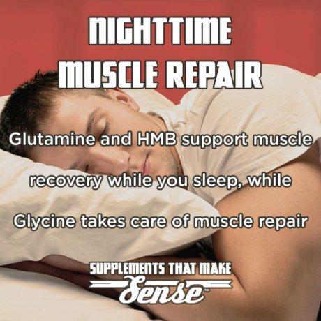 Nighttime Muscle Repair