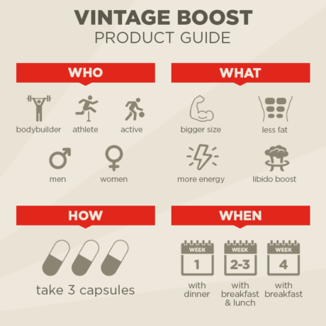Vintage Boost Product Guide