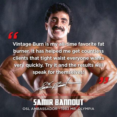 Vintage Burn Samir Bannout