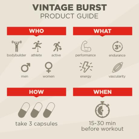 Vintage Burst Product Guide