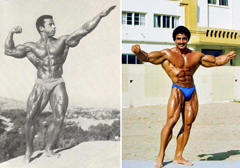 Chris Dickerson and Samir Bannout