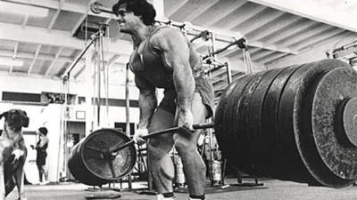 Franco Columbu Deadlifts