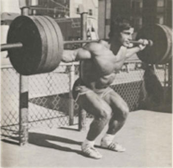 Franco Columbu Squats