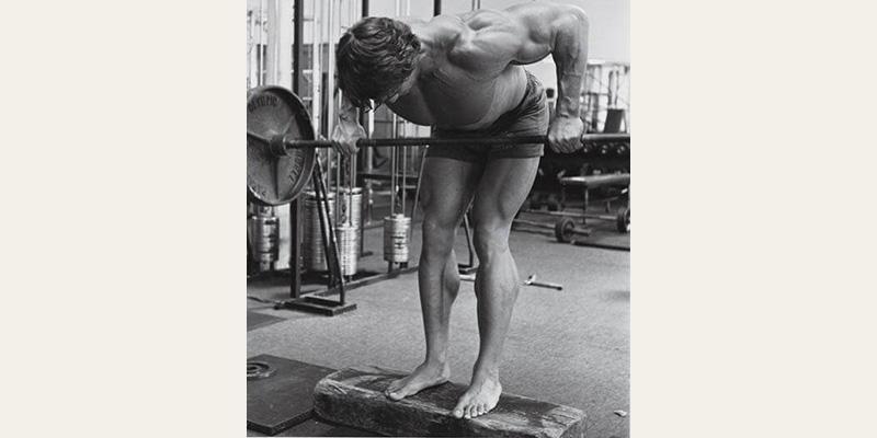 Arnold Schwarzenegger Barbell Rows