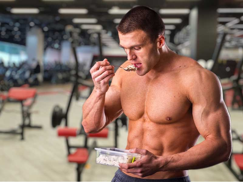 Rice is a classic bodybuilding staple
