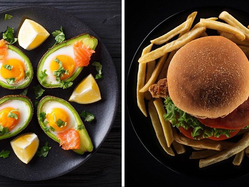Good fats vs bad fats foods