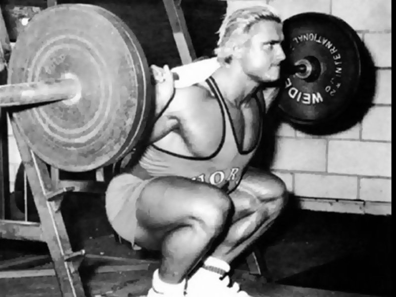 Tom Platz squat