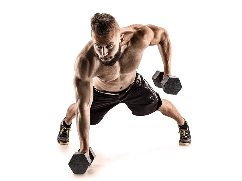dumbbells hiit
