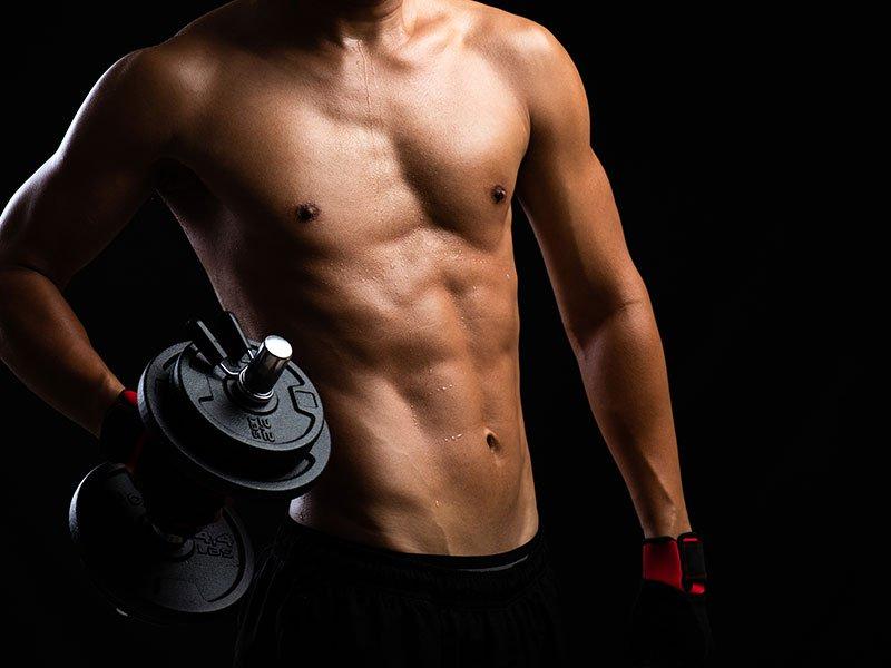 medium sized bodybuilder