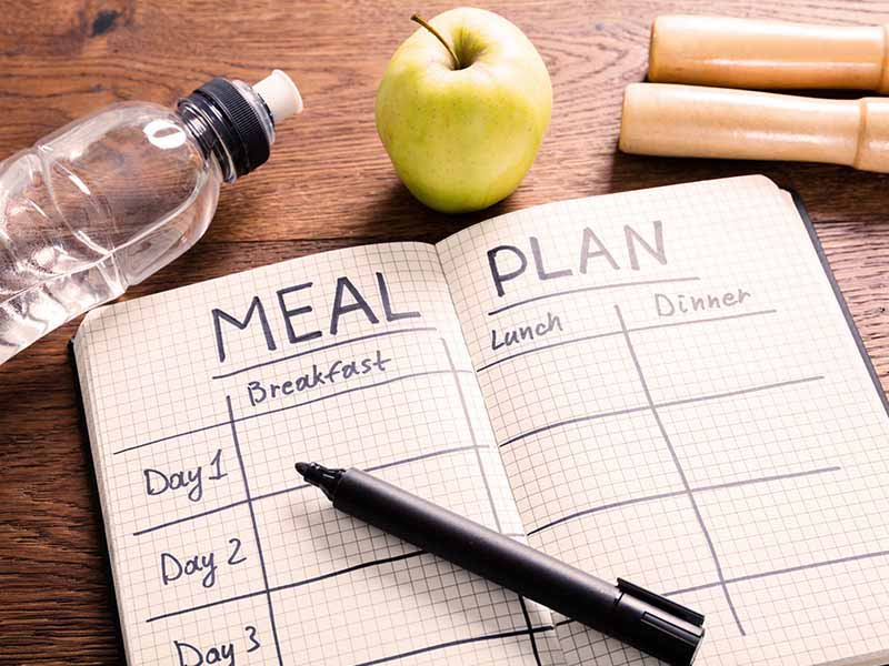 dieting and planning