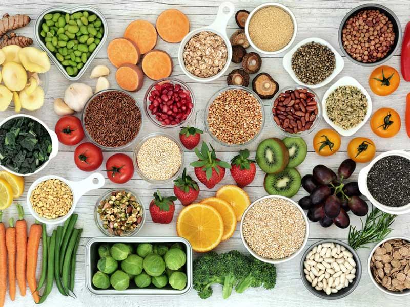 vegetables & grains