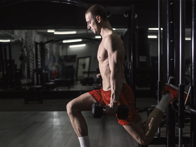 Bulgarian squat