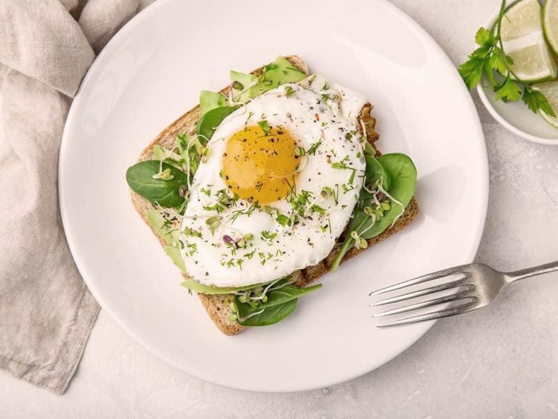 eggs and avocado