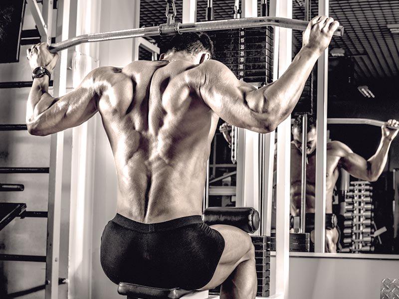 machine training shoulders