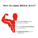 Classic BCAA 2:1:1 Benefits