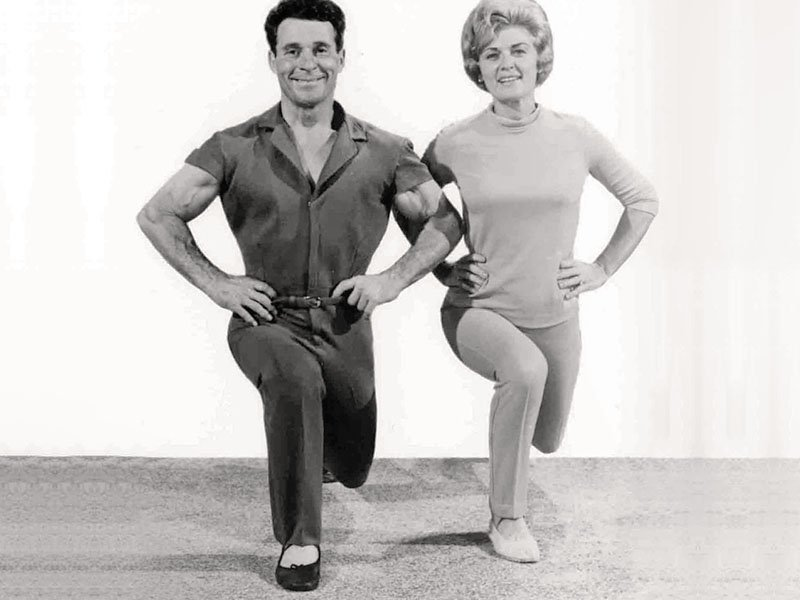 Jack Lalanne exercise