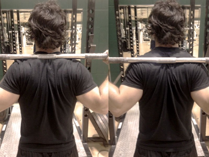 High-Bar vs  Low-Bar Squat [side-by-side comparison] - Old School Labs