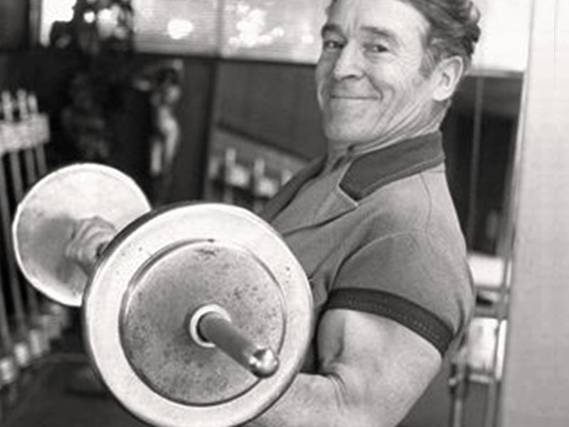 jack lalanne exercising