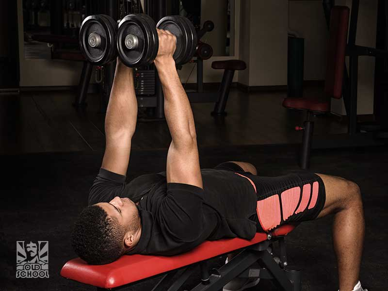 decline bench dumbbell chest fly