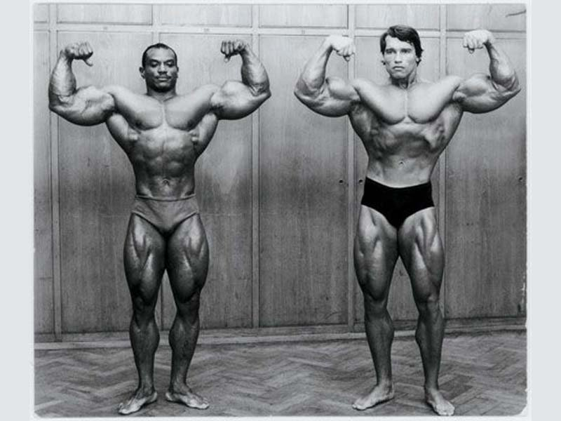 Lee Haney and Arnold