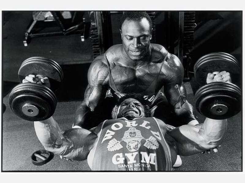 Lee Haney training