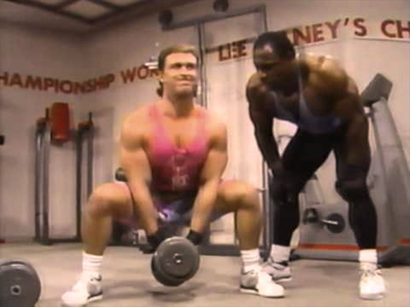 Lee haney gym