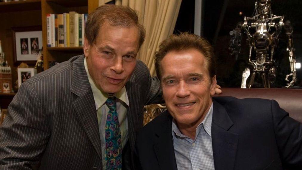 Franco Columbu and Arnold Schwarzenegger