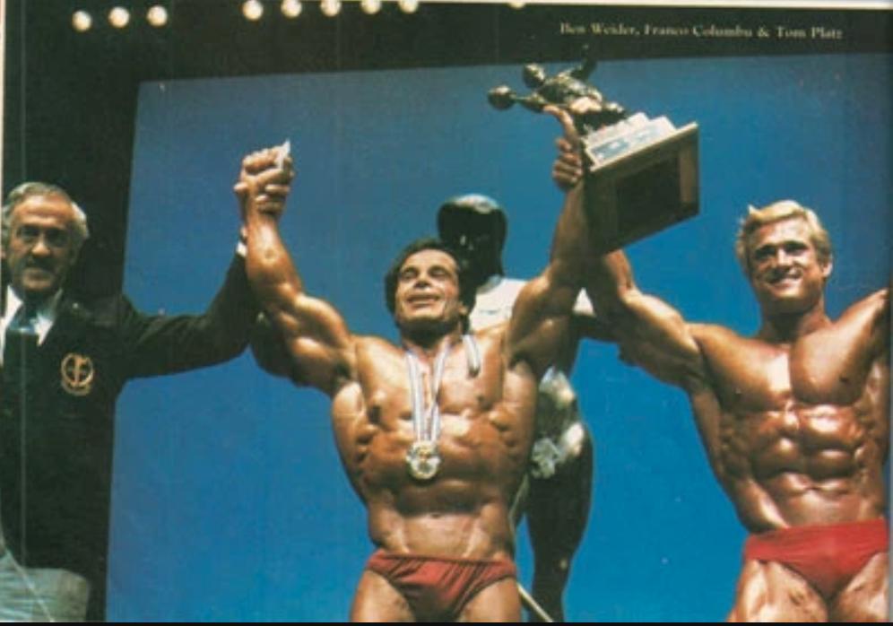 Franco Columbu bodybuilder