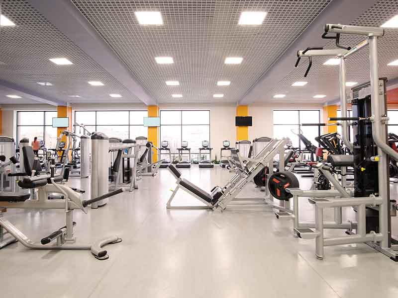 Gym with Machines