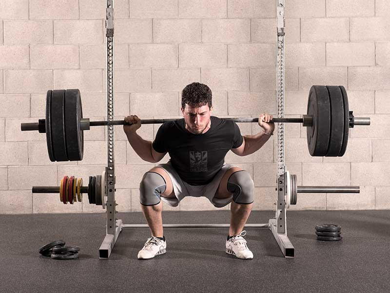 Squats with Free Weights