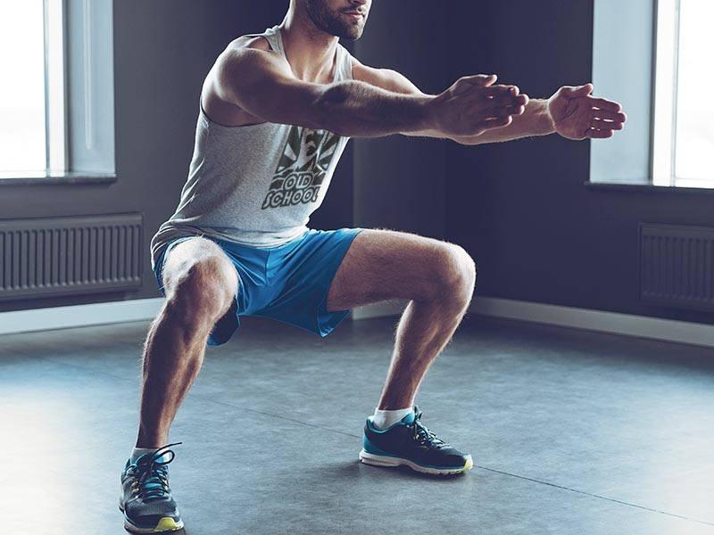 Gym Squats
