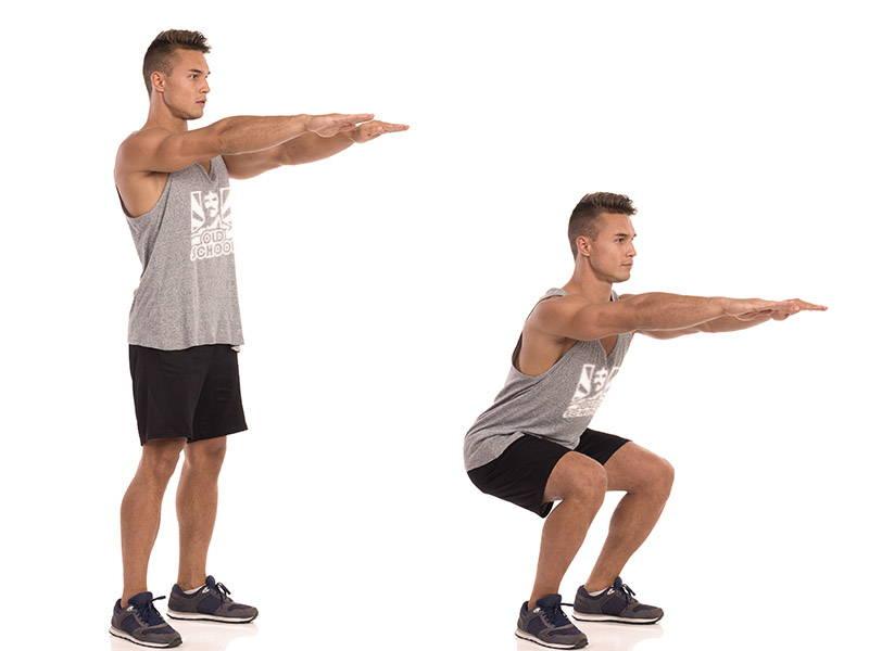 Proper Form Squat
