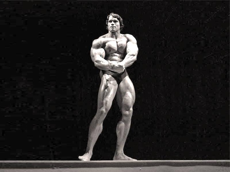 Arnold Posing
