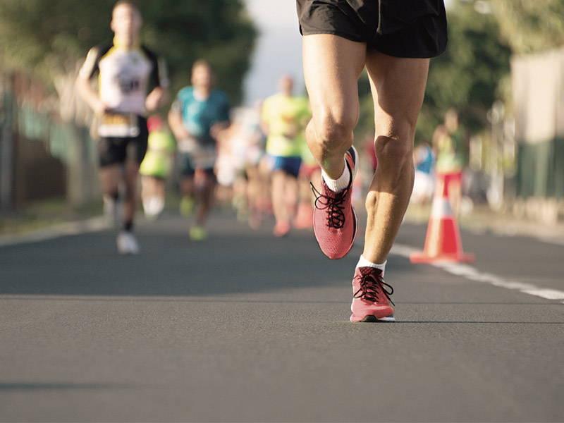 Low Shot of Marathon
