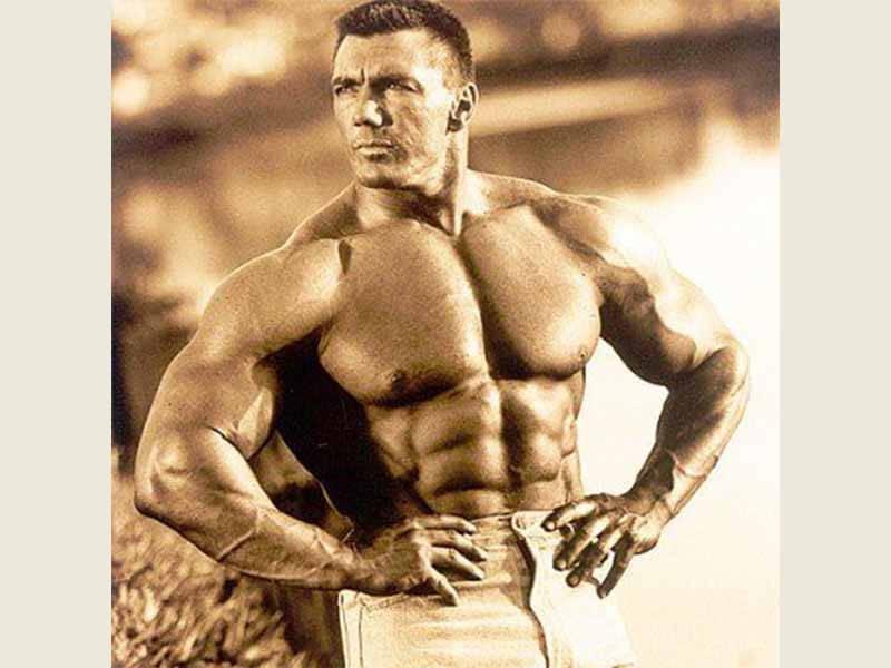 John Hansen Posing