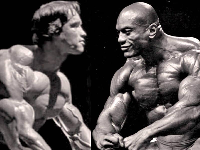Arnold vs Sergio
