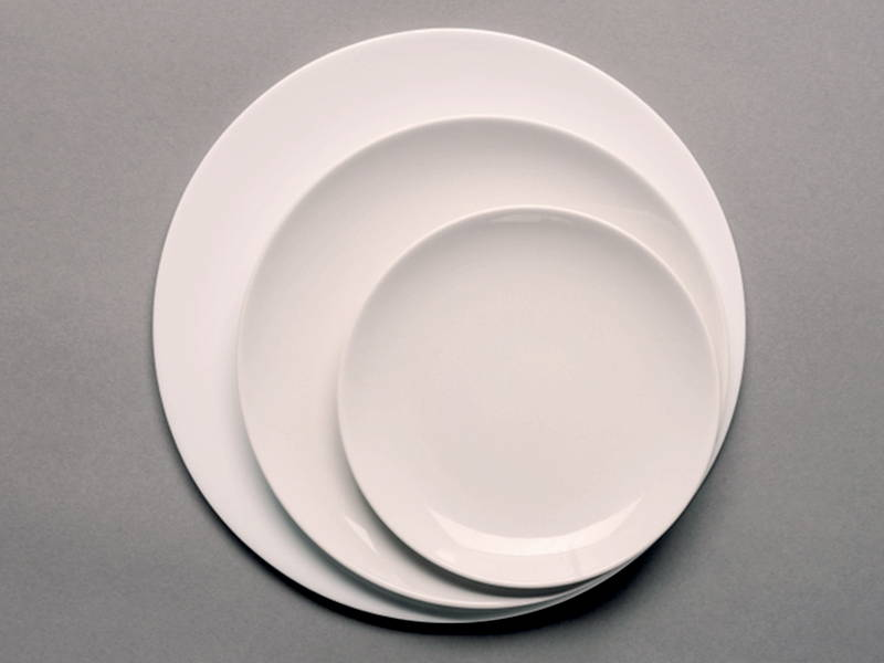 Different Size Plates Portion Control