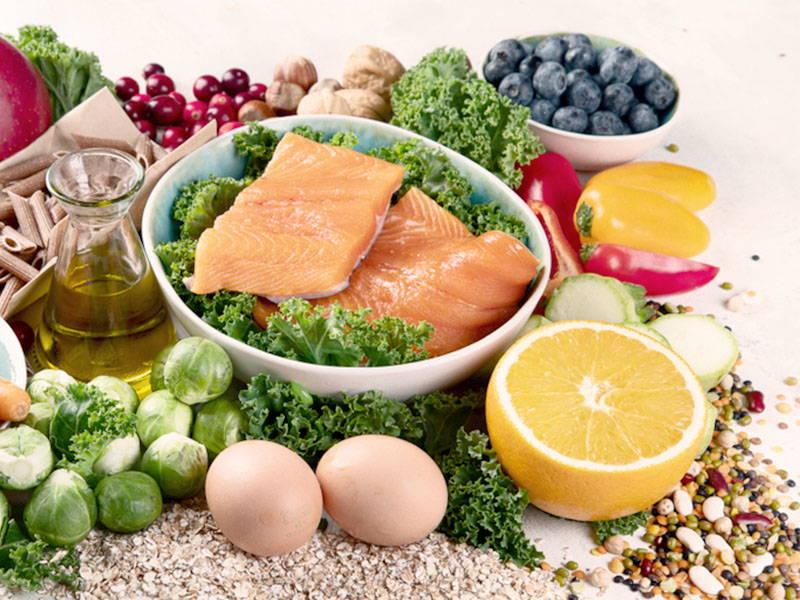 Fat loss through healthy eating